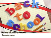 Education & Training: Back-to-School Season PowerPoint Template #06154
