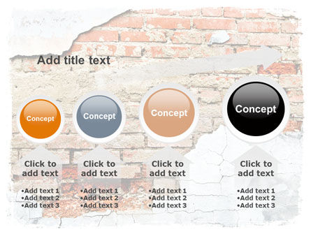 Wall PowerPoint Template Slide 13