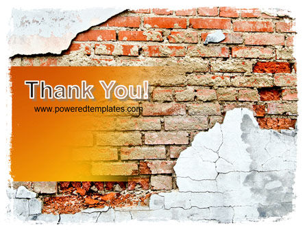 Wall PowerPoint Template Slide 20
