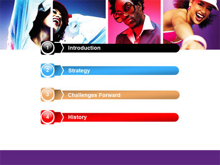 Clubbers PowerPoint Template, Slide 3, 06156, People — PoweredTemplate.com