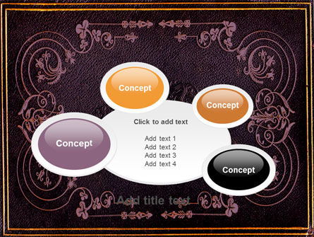 Book Cover PowerPoint Template Slide 16