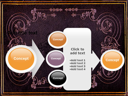 Book Cover PowerPoint Template Slide 17