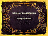 Abstract/Textures: Book Cover PowerPoint Template #06161