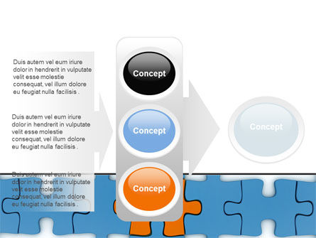 Center Puzzle PowerPoint Template Slide 11