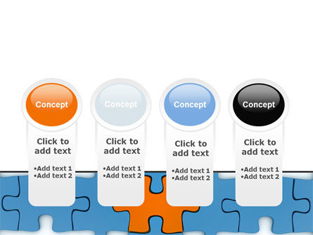 Center Puzzle PowerPoint Template Slide 5