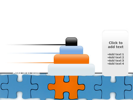Center Puzzle PowerPoint Template Slide 8