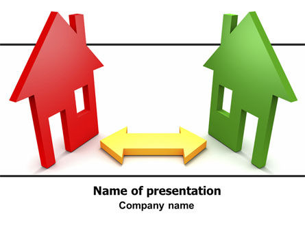 Careers/Industry: Real Estate Development PowerPoint Template #06163