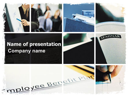 Employee Benefit Plan PowerPoint Template