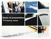 Business: 従業員給付制度 - PowerPointテンプレート #06164