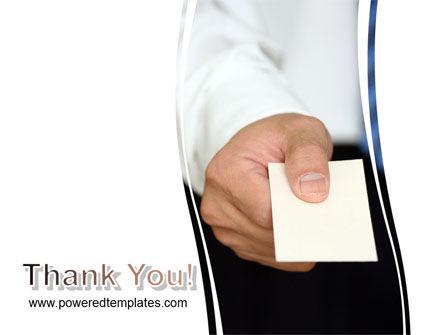 Business Card PowerPoint Template Slide 20