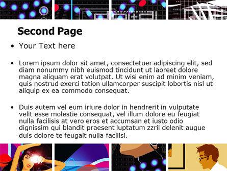 Digital Technologies PowerPoint Template, Slide 2, 06167, Technology and Science — PoweredTemplate.com