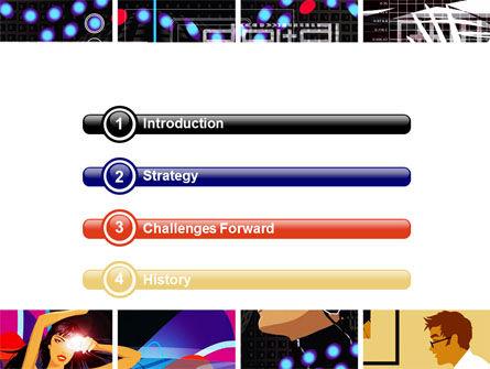 Digital Technologies PowerPoint Template, Slide 3, 06167, Technology and Science — PoweredTemplate.com