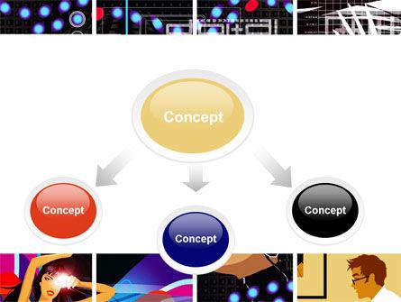 Digital Technologies PowerPoint Template, Slide 4, 06167, Technology and Science — PoweredTemplate.com