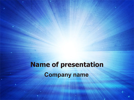 Distant Light PowerPoint Template