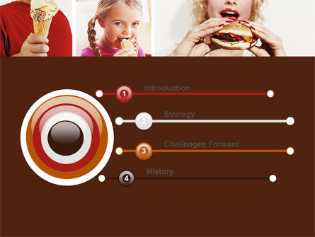 Sweet Snacks PowerPoint Template, Slide 3, 06170, Medical — PoweredTemplate.com