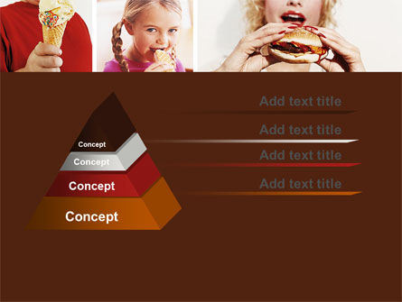 Sweet Snacks PowerPoint Template, Slide 4, 06170, Medical — PoweredTemplate.com
