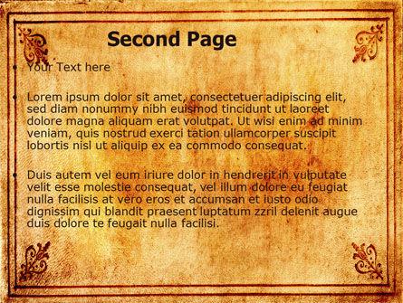 Landscapes PowerPoint Template, Slide 2, 06172, Nature & Environment — PoweredTemplate.com