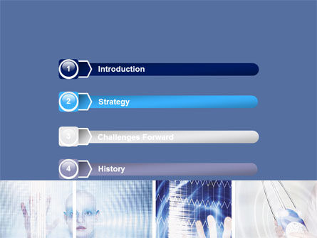 Futuristic Lady PowerPoint Template, Slide 3, 06173, Technology and Science — PoweredTemplate.com