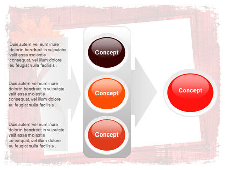 Autumn Frame PowerPoint Template Slide 11
