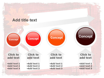 Autumn Frame PowerPoint Template Slide 13