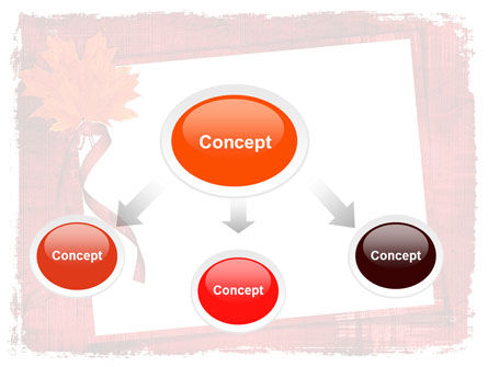Autumn Frame PowerPoint Template Slide 4