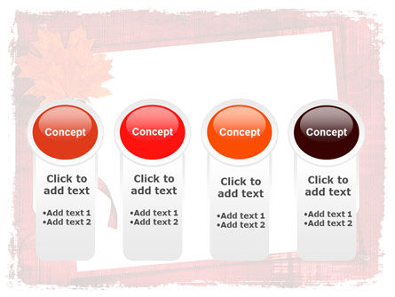 Autumn Frame PowerPoint Template Slide 5