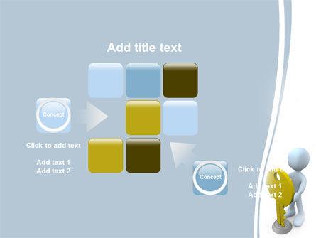 Unlock PowerPoint Template Slide 16