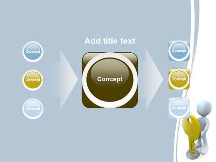 Unlock PowerPoint Template Slide 17