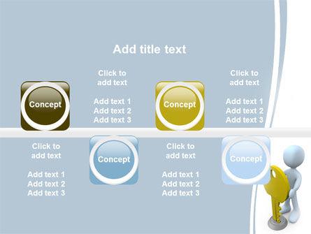 Unlock PowerPoint Template Slide 19