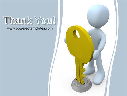 Unlock PowerPoint Template Slide 20