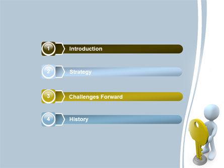 Unlock PowerPoint Template Slide 3