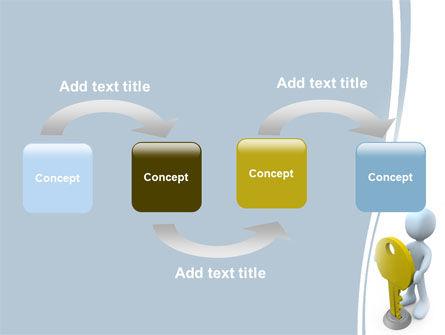 Unlock PowerPoint Template Slide 4
