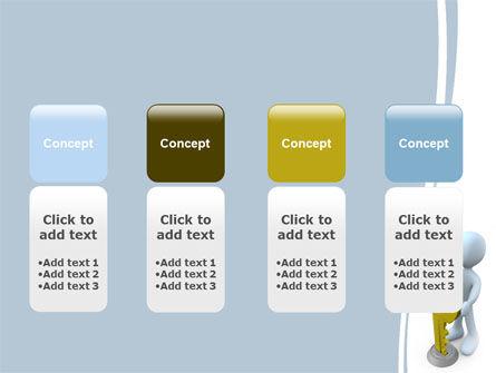 Unlock PowerPoint Template Slide 5