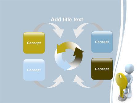 Unlock PowerPoint Template Slide 6