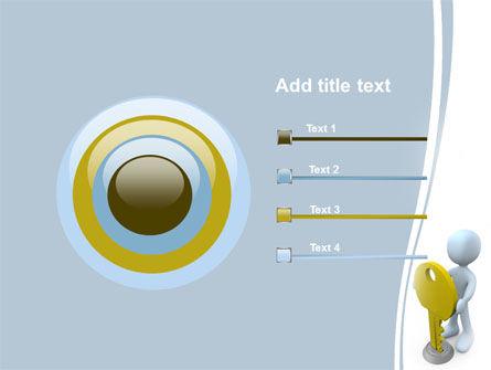 Unlock PowerPoint Template Slide 9