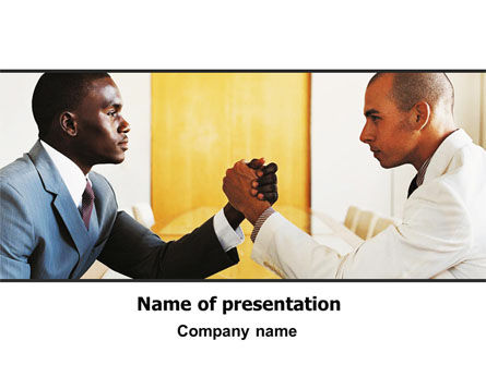People: Contention PowerPoint Template #06179
