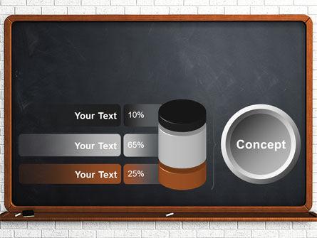 Blackboard PowerPoint Template Slide 11