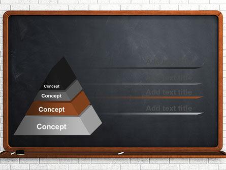 Blackboard PowerPoint Template Slide 12