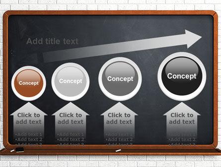 Blackboard PowerPoint Template Slide 13