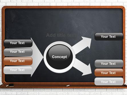 Blackboard PowerPoint Template Slide 14