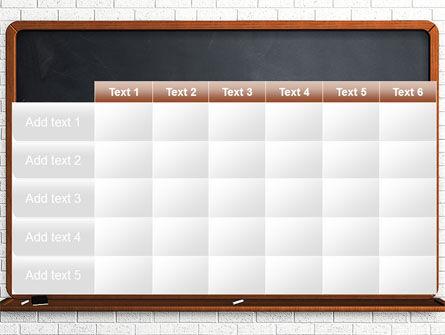 Blackboard PowerPoint Template Slide 15