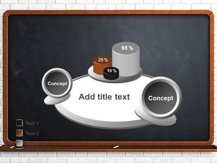 Blackboard PowerPoint Template Slide 16