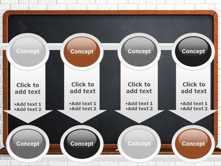 Blackboard PowerPoint Template Slide 18