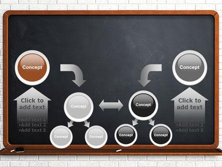 Blackboard PowerPoint Template Slide 19
