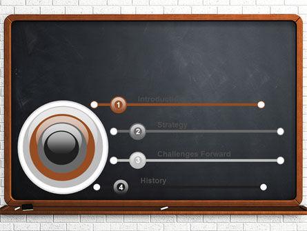 Blackboard PowerPoint Template Slide 3