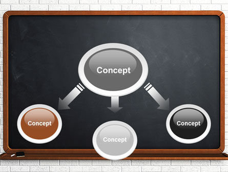 Blackboard PowerPoint Template, Slide 4, 06184, Education & Training — PoweredTemplate.com