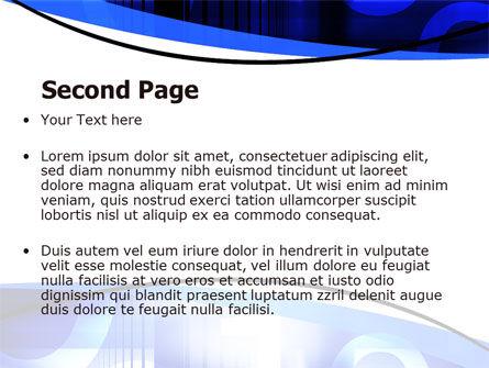 Digital Flow PowerPoint Template Slide 2