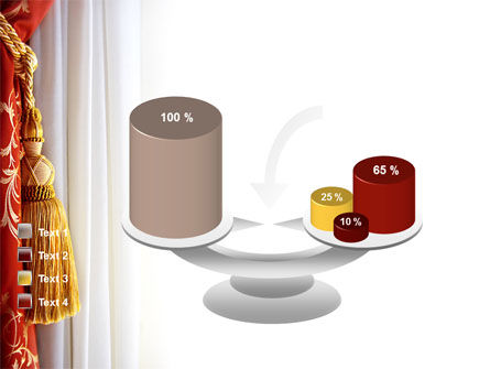 Curtain PowerPoint Template Slide 10