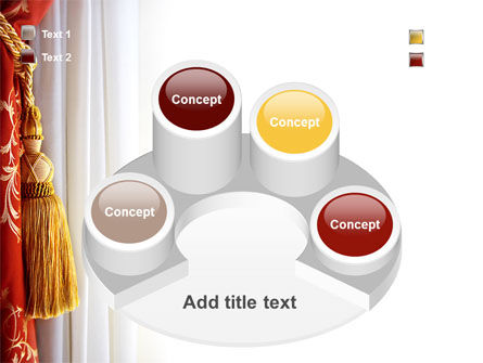 Curtain PowerPoint Template Slide 12