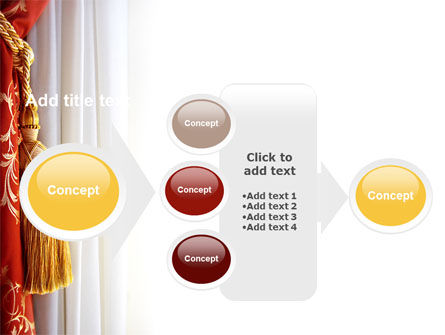Curtain PowerPoint Template Slide 17